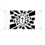 Christian Cross Banner