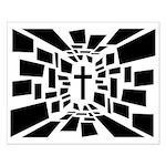 Christian Cross Small Poster