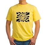 Christian Cross Yellow T-Shirt