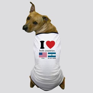 USA-EL SALVADOR Dog T-Shirt