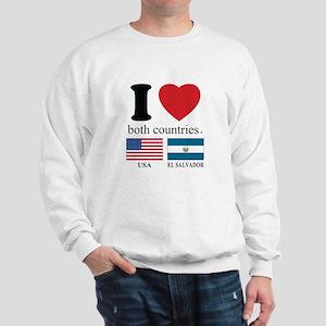 USA-EL SALVADOR Sweatshirt