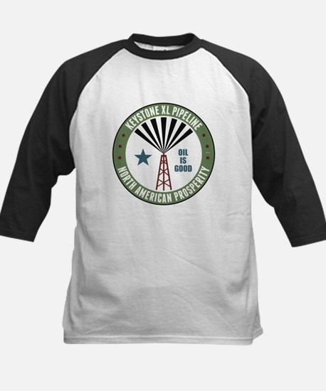 Keystone XL Pipeline Kids Baseball Jersey