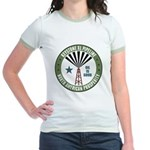 Keystone XL Pipeline Jr. Ringer T-Shirt
