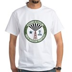 Keystone XL Pipeline White T-Shirt