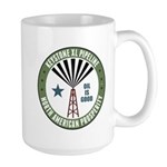 Keystone XL Pipeline Large Mug