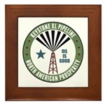 Keystone XL Pipeline Framed Tile
