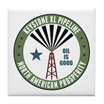 Keystone XL Pipeline Tile Coaster