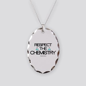 'Respect the Chemistry' Necklace Oval Charm