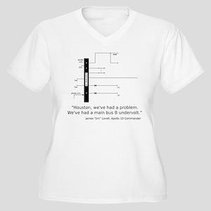 Apollo 13 Women's Plus Size V-Neck T-Shirt