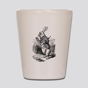 The White Rabbit Shot Glass