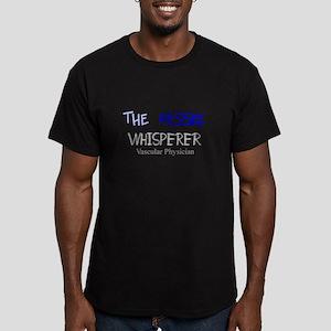 The Whisperer Men's Fitted T-Shirt (dark)