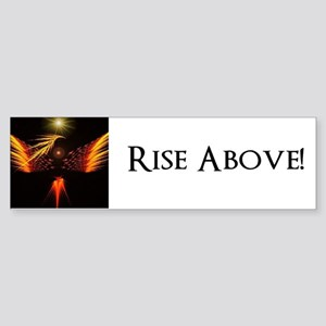 P.R.R. Rise Above! Sticker (Bumper)