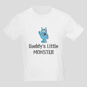 Daddy's Little Monster Kids Light T-Shirt
