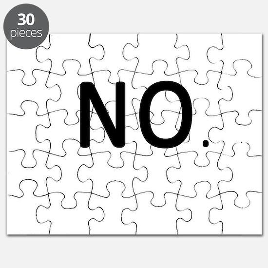 No. Just No. Puzzle