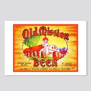 California Beer Label 15 Postcards (Package of 8)
