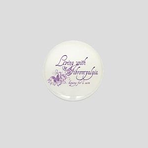 Living with Fibromyalgia Mini Button