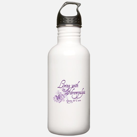 Living with Fibromyalgia Water Bottle