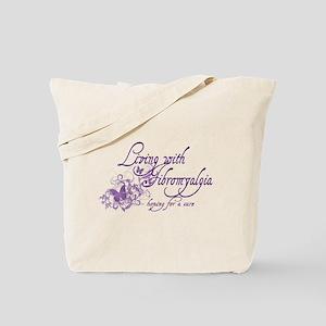 Living with Fibromyalgia Tote Bag