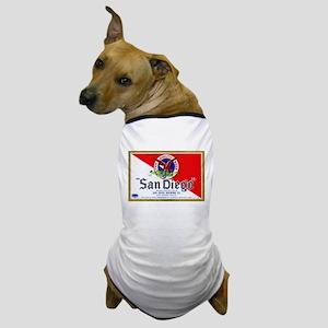 California Beer Label 9 Dog T-Shirt