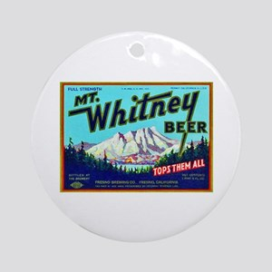 California Beer Label 7 Ornament (Round)