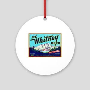 California Beer Label 7 Ornament (Round)