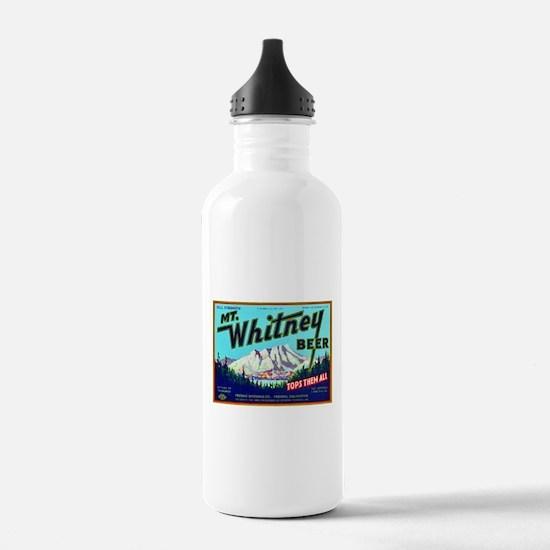 California Beer Label 7 Water Bottle