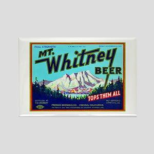 California Beer Label 7 Rectangle Magnet
