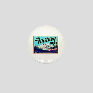 California Beer Label 7 Mini Button