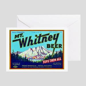 California Beer Label 7 Greeting Card