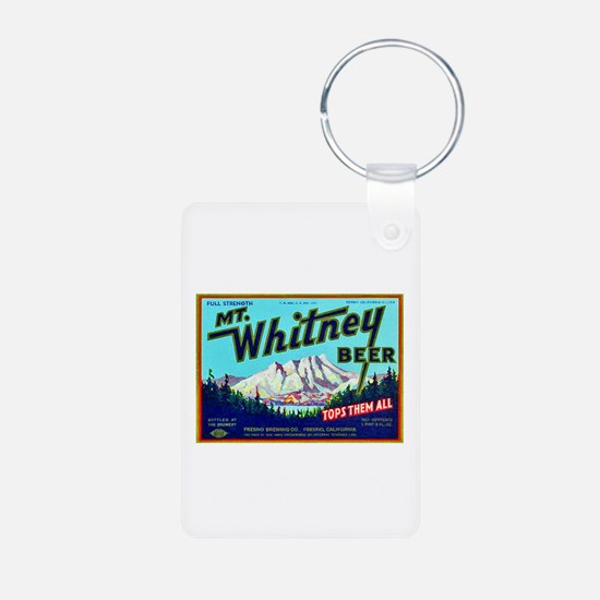 California Beer Label 7 Keychains