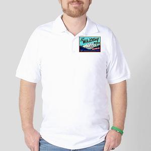 California Beer Label 7 Golf Shirt