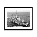 USS McCAFFERY Framed Panel Print