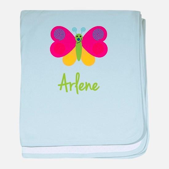 Arlene The Butterfly baby blanket