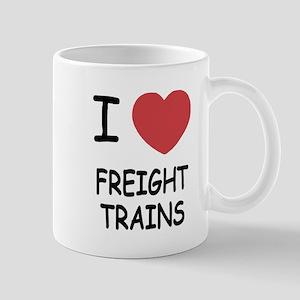 I heart freight trains Mug