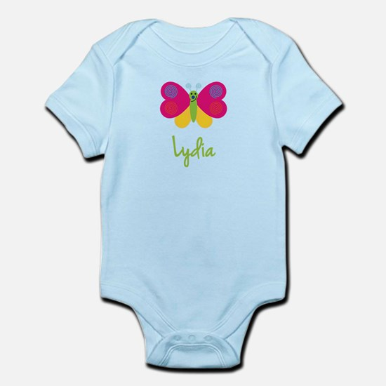 Lydia The Butterfly Infant Bodysuit