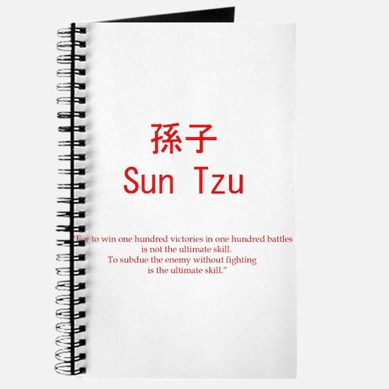 Sun Tzu Advice Journal