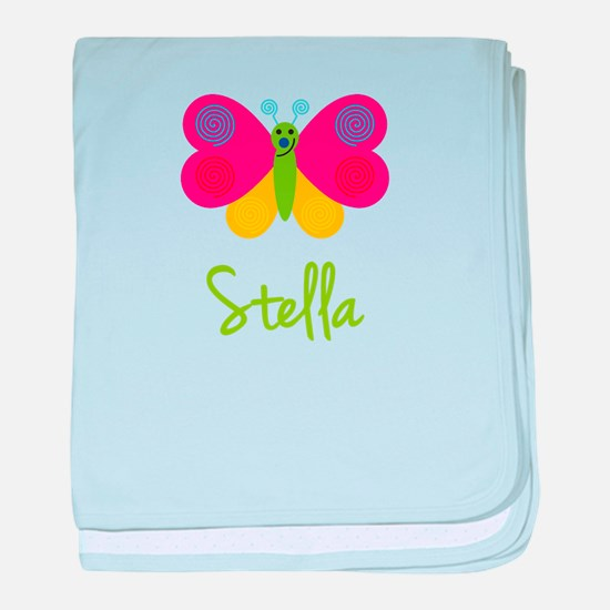 Stella The Butterfly baby blanket
