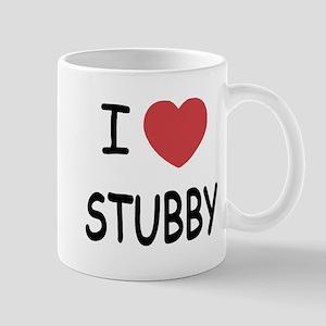 I heart stubby Mug