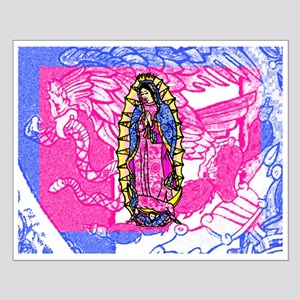 Virgin of Guadalupe Small Poster