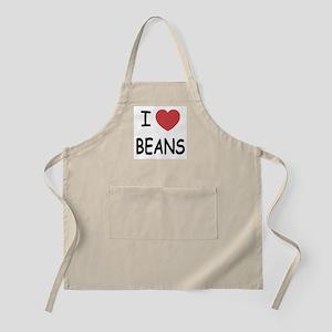 I heart beans Apron