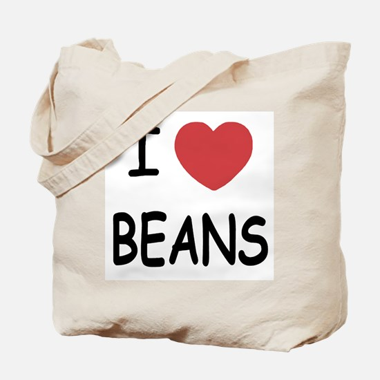 I heart beans Tote Bag