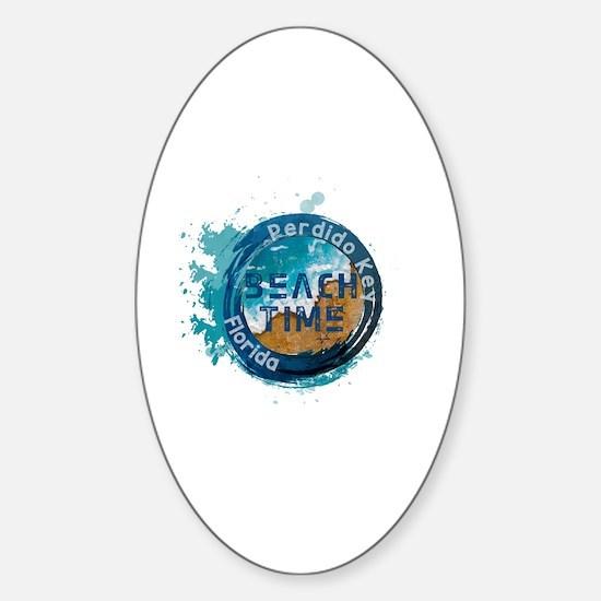 Funny Sun city Sticker (Oval)