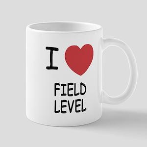 I heart field level Mug