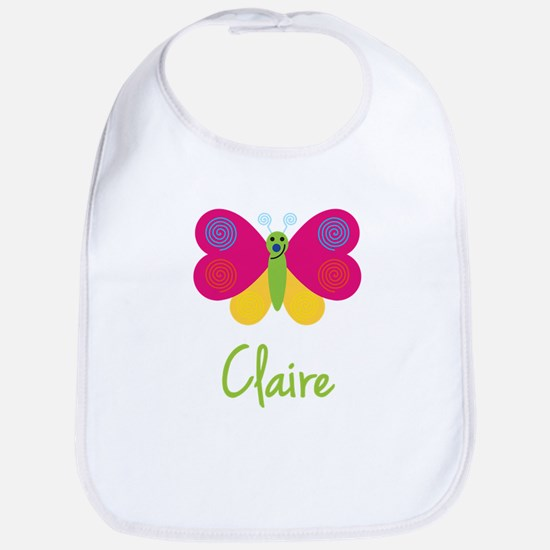 Claire The Butterfly Bib