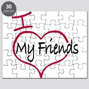 I love my friends Puzzle