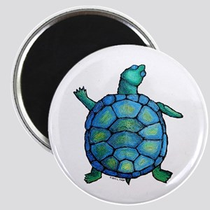 Blue Turtle Boogie Magnet