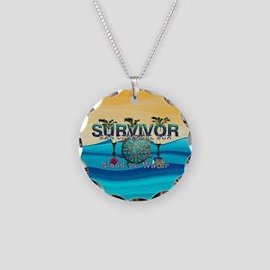 Survivor San Juan Necklace Circle Charm