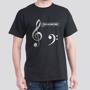Treble Clef Dark T-Shirt