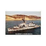 USS HENRY W. TUCKER Rectangle Magnet