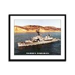 USS HENRY W. TUCKER Framed Panel Print